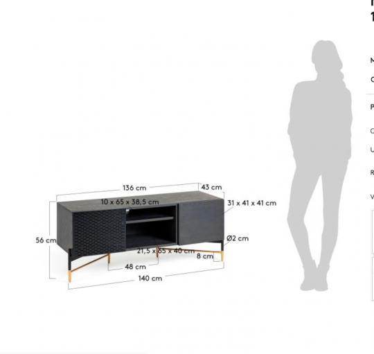 MUEBLE DE TV NORFORT 8